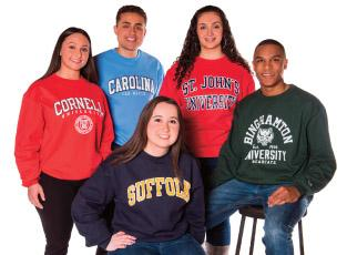 5 students who transfer to different colleges after graduating Suffolk.