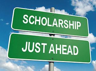 Scholarship Sign.