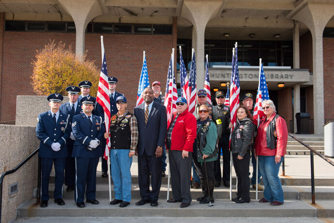 Honoring Veterans with the Student Veteran Association