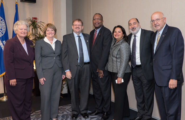 Suffolk Welcomes Top SUNY Administrators