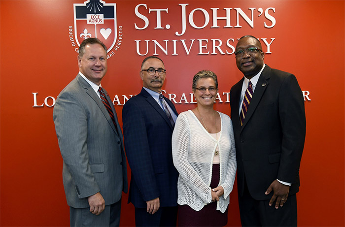 Dr. McKay Supports Opening of St. John's L.I. Graduate Center