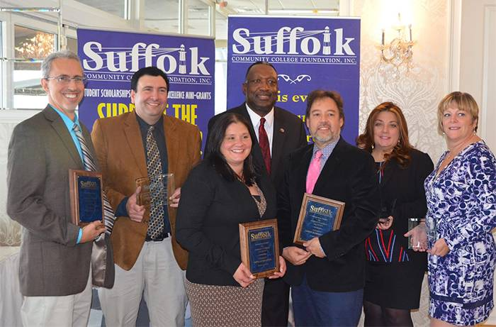 Suffolk Faculty and Staff Recognized