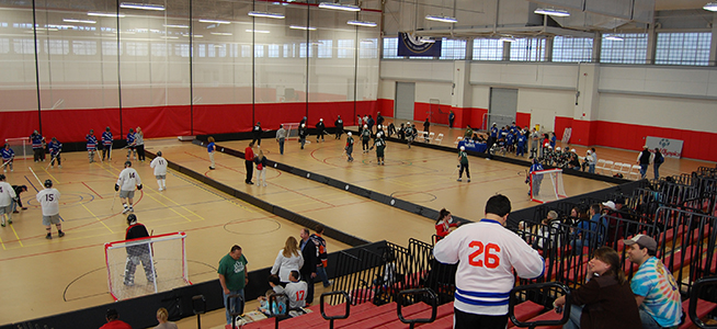 Special Olympics Floor Hockey Competition