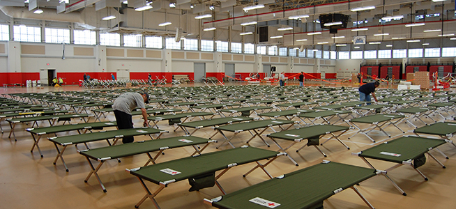 Hurricane Sandy Relief Center