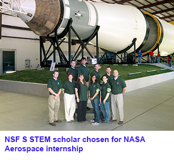 NFS STEM scholar chosen for NASA Aerospace internship