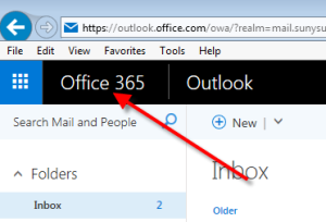 Access Office 365 from Outlook