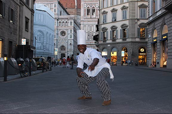 Chef in Florence, Italy, an SCCC Study Abroad Destination