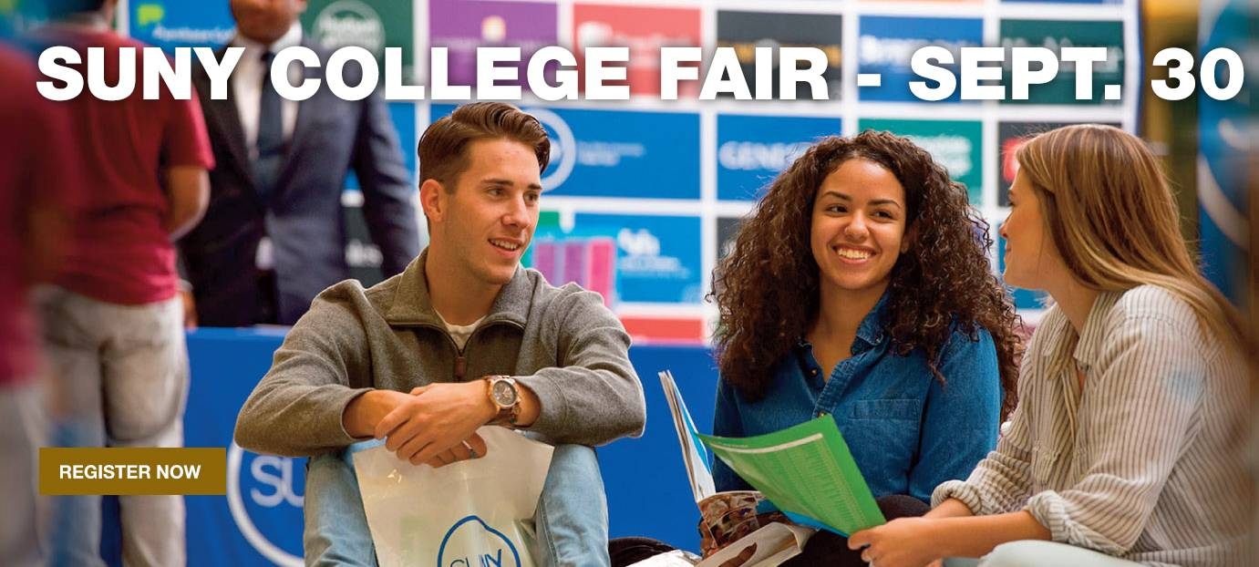 SUNY College Fair - Sept. 30