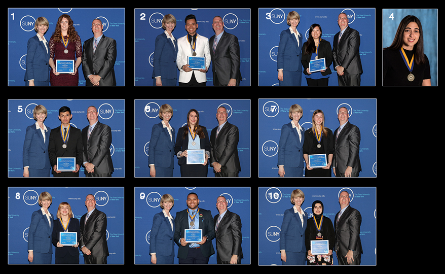 2018 Chancellor Award Winners composite photo