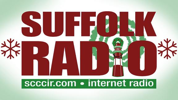radio station logo holiday themed