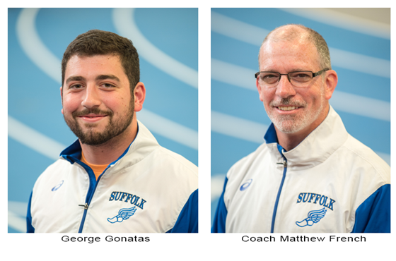 Track and field awards, Matt French Coach of the year and George Gonatas Athelte of the year