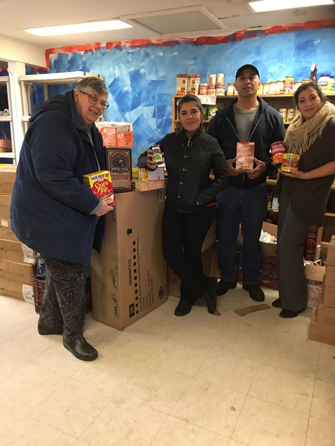 Pantry donation